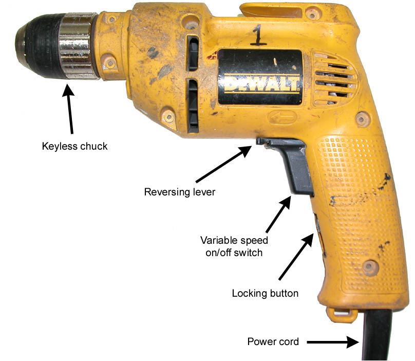 Best Cordless Drill Kit 2015 Release  Hand Drill Labeled