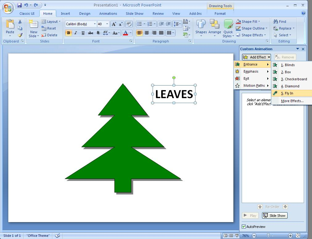 how to use eyedropper in powerpoint 2007